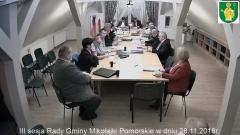 III Sesja Rady Gminy Mikołajki Pomorskie za nami.