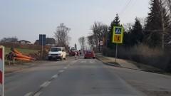 Kolejne utrudnienia na drodze 515 w Nowej Wsi Malborskiej.