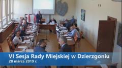 VI sesja Rady Miejskiej w Dzierzgoniu. Na żywo.
