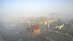 Mgła w Malborku. Zobacz film Timelapse