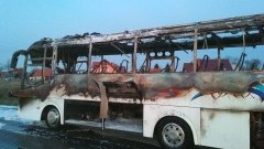 Pożar autobusu w Nowym Dworze Gdańskim. 23 pasażerom udało się ewakuować. - raport nowodworskich służb mundurowych