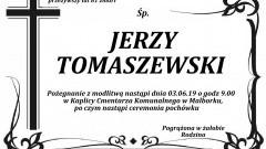 Zmarł Jerzy Tomaszewski. Żył 81 lat