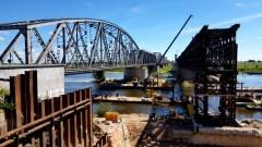 Trwa remont mostu w Tczewie. Niestety inwestycja potrwa jeszcze długie lata.