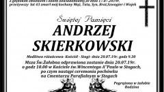 Zmarł Andrzej Skierkowski. Żył 43 lata