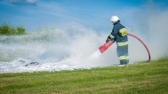 Kolizja drogowa w Koniecwałdzie, pożary i nie tylko – raport sztumskich służb mundurowych.