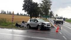 Nieprawidłowe wyprzedzanie przyczyną wypadku na DK22.