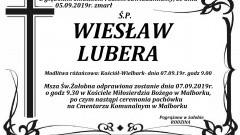 Zmarł Wiesław Lubera.