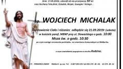 Zmarł Wojciech Michalak. Żył 50 lat.