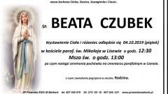 Zmarła Beata Czubek. Żyła 40 lat.
