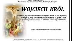 Zmarł Wojciech Król. Żył 72 lata.
