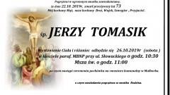 Zmarł Jerzy Tomasik. Żył 73 lata