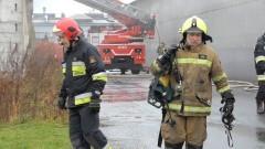 Nieszczelny piecyk prawdopodobną przyczyną pożaru hali magazynowej w Malborku.