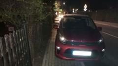 Mistrz (nie tylko) parkowania na ulicy Kochanowskiego w Malborku.