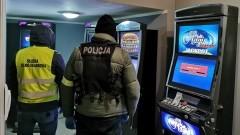 Amfetamina, marihuana i 5 nielegalnych automatów do gier hazardowych.