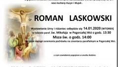Zmarł Roman Laskowski. Żył 64 lata.