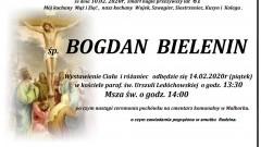 Zmarł Bogdan Bielenin. Żył 61 lat.