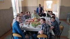 Wspólne święta wielkanocne podopiecznych Młodzieżowego Ośrodka Wychowawczego w Malborku.