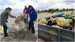 """""""Ręce opadają"""" - Błękitny Patrol WWF po akcji sprzątania rezerwatu Mewia Łacha."""