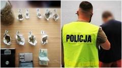Zatrzymani posiadali prawie 300 g narkotyków.