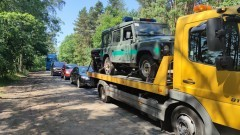 Przekop Mierzei Wiślanej wciąż z ruchem wahadłowym. Poważne utrudnienia na drodze DW501 do Krynicy Morskiej i Piasków.
