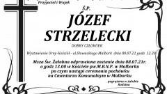 Zmarł Józef Strzelecki. Żył 84 lata.