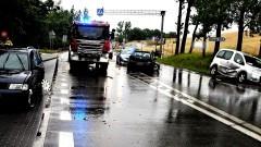 DK91. W zderzeniu kilku aut, dwie osoby trafiły do szpitala.