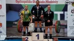 Malbork. Wojciech Kuligowski brązowym medalistą Mistrzostw Polski w Podnoszeniu Ciężarów.