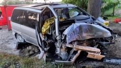 Śmiertelny wypadek w Gronajnach - kierowca miał ponad 3,5 promila alkoholu.