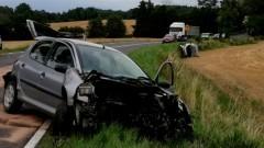 Stracił panowanie nad pojazdem i doprowadził do wypadku – raport sztumskich służb mundurowych.