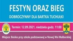 Gmina Malbork. Weź udział w Festynie i Biegu Dobroczynnym dla Bartka Tuchułki. Trwają zapisy.