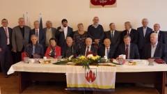 Spotkanie po latach radnych Rady Miasta Malborka I kadencji.