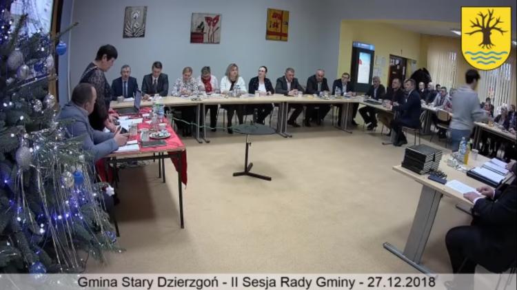III sesja Rady Gminy Stary Dzierzgoń.