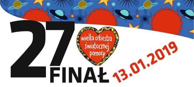 27. Finał Wielkiej Orkiestry Świątecznej Pomocy w Dzierzgoniu.