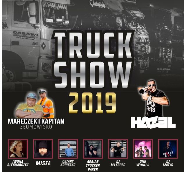 Truck Show Zlot Pojazdów Ciężarowych w Nowym Stawie
