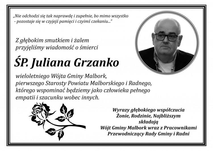 Zmarł Julian Grzanko. Miał 68 lat.