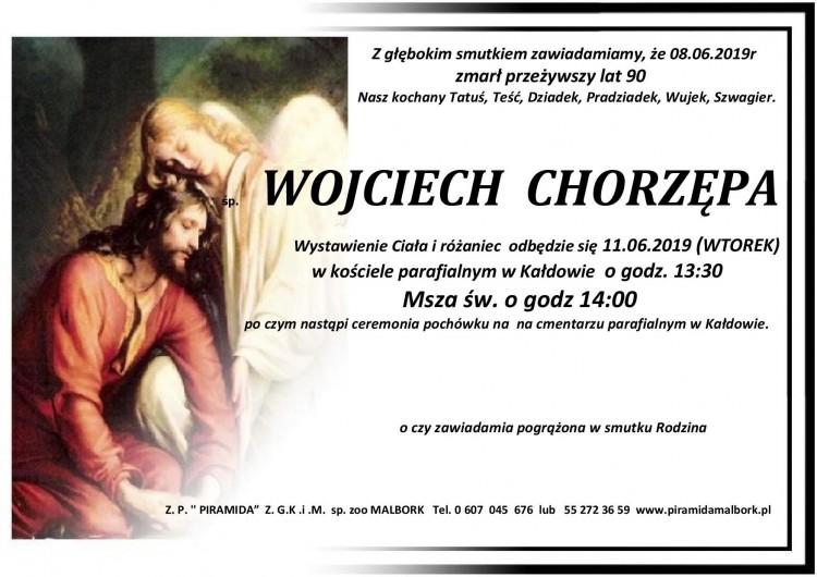 Zmarł Wojciech Chorzępa. Żył 90 lat.