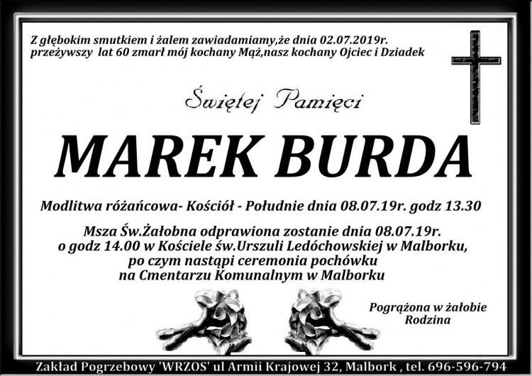 Przyjaciele i znajomi z Przystani Malbork składają kondolencje