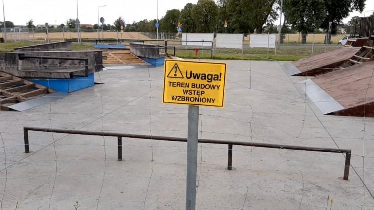 Remont skateparku będzie kosztował 40 tys. zł. Znamy datę jego ponownego otwarcia.