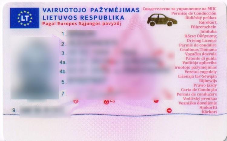 Chciał przekroczyć polską granicę z fałszywym prawem jazdy.