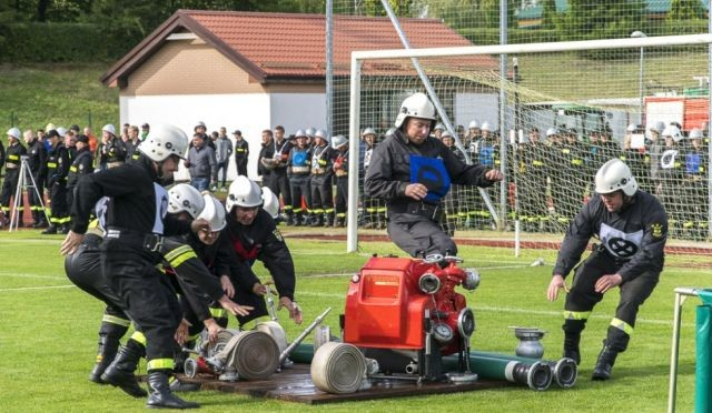 Sztum: Powiatowe Zawody Sportowo- Pożarniczych Jednostek Ochotniczych Straży Pożarnych