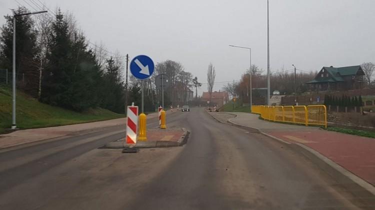 W grudniu zacznie się palowanie na przebudowywanej DW515 na odcinku w Nowej Wsi Malborskiej.