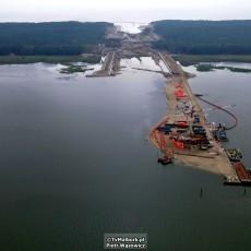 Przekop Mierzei Wiślanej. Budowa kanału żeglugowego sierpień 2021